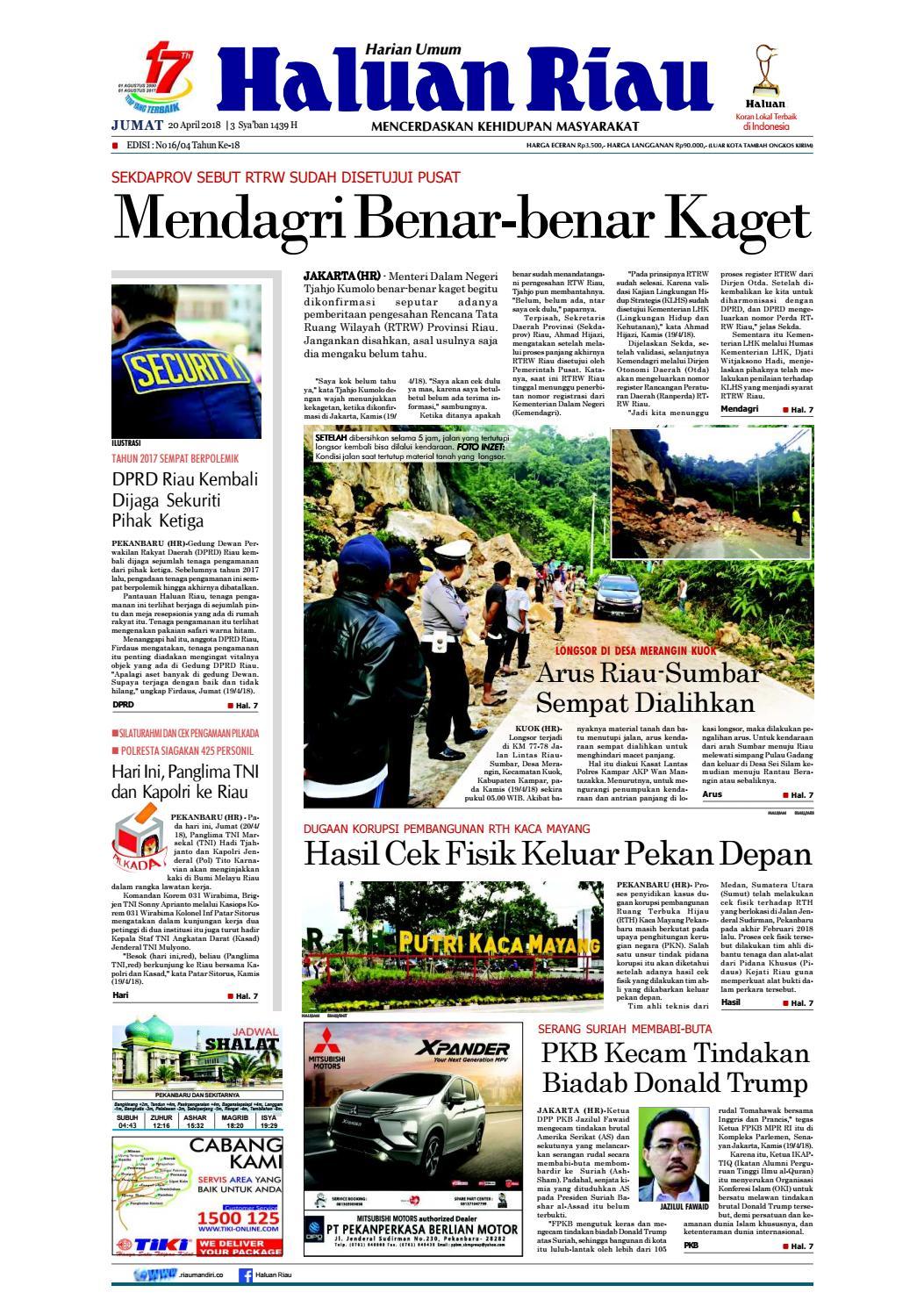 Haluanriau 20 20 20,pdf by Haluan Riau   issuu