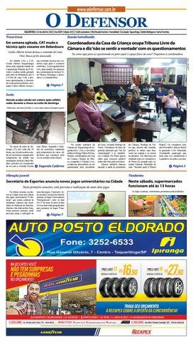 52aaab65f Jornal O Defensor 20 de abril de 2018 by gabriel baglioti - issuu