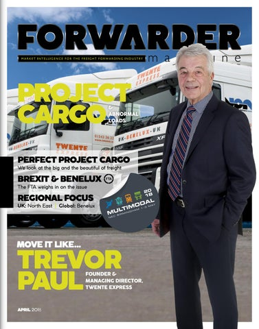 FORWARDER magazine April 2018 'Project Cargo & Abnormal