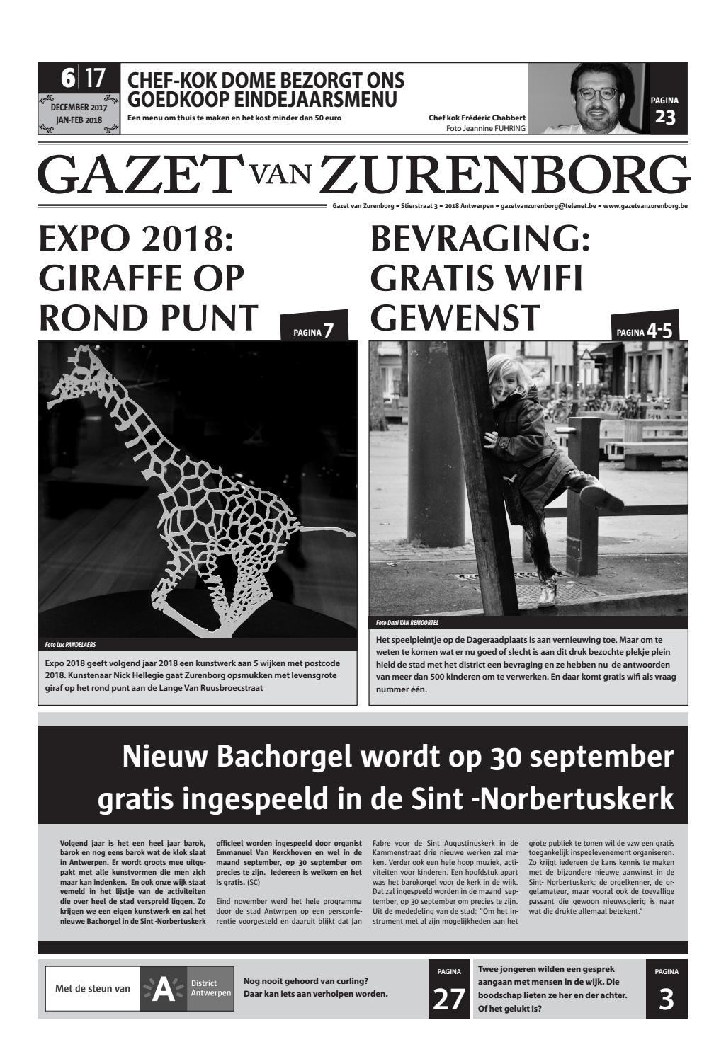 Gazet van Zurenborg 2017 Editie 6 by Gazet van Zurenborg - issuu