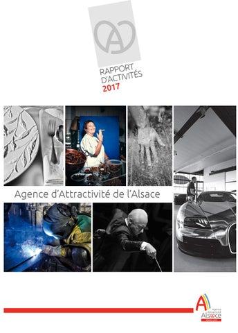 AAA - Rapport d activité 2017 by Agence d Attractivité de l Alsace ... 91be17e072c2