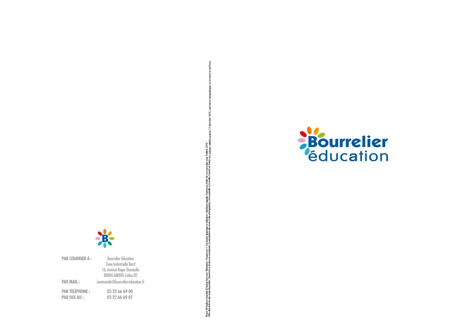 Catalogue Bourrelier Education 0 3 Ans 2018 2 123 By