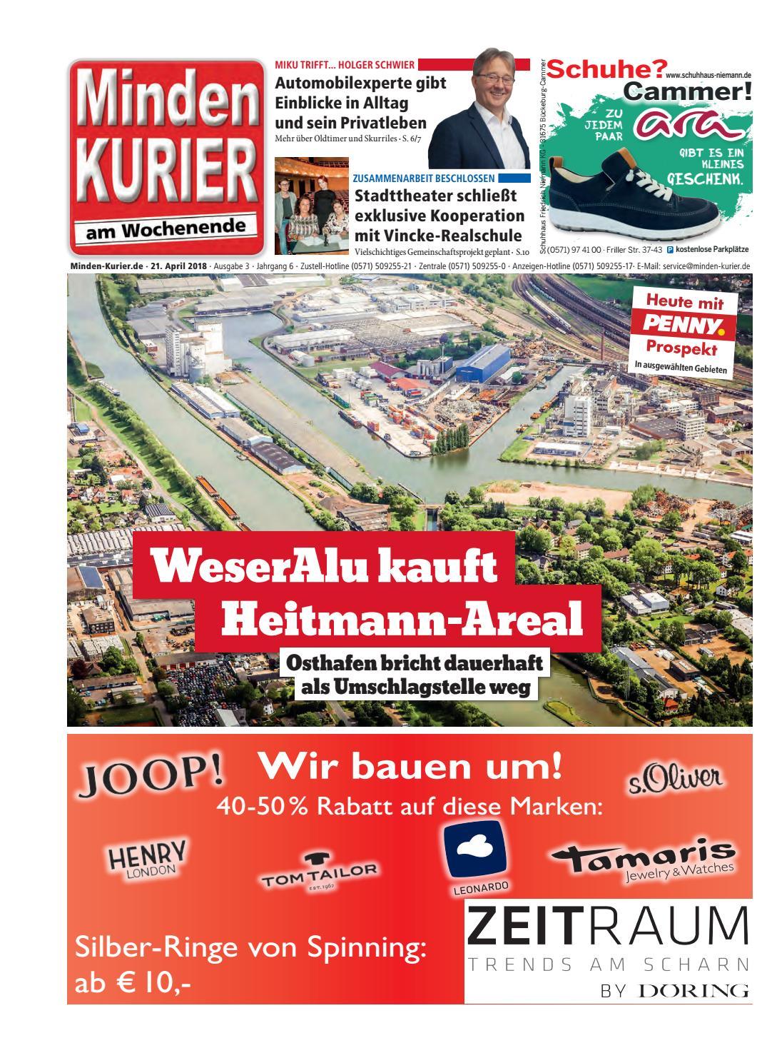 Perfekt 21. April 2018 U2013 WeserAlu Kauft Heitmann Areal By Minden Kurier Issuu