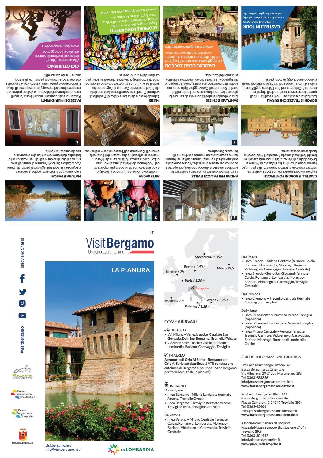 Forma E Colori Treviglio mappa della pianura bergamasca by visit bergamo - issuu