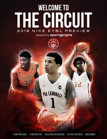 2018 Nike Eybl Preview Magazine Welcome To The Circuit By