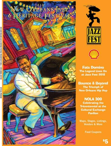 Jazzfest 2018 by Renaissance Publishing - issuu