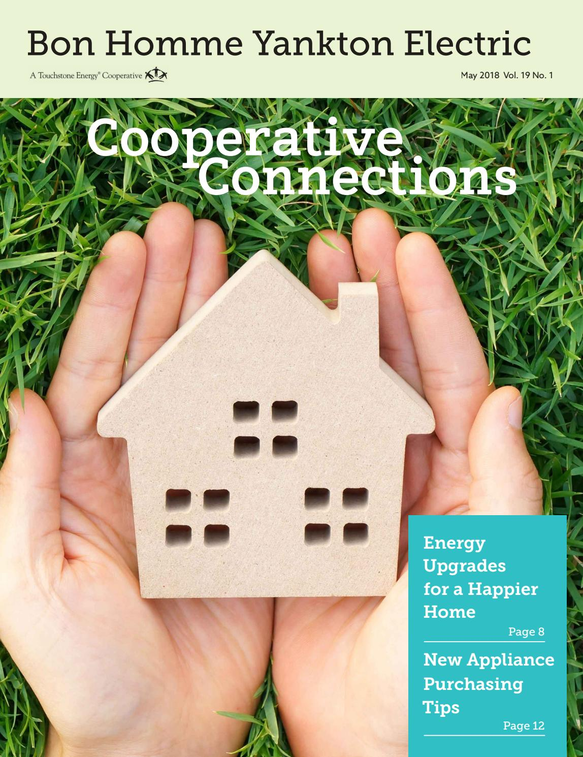 Bon Homme Yankton Electric Cooperative Connections May 2018 By Home A C Compressor Wiring Post Association Inc Issuu