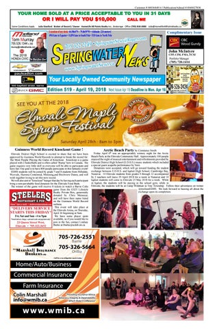 0772123c487dd April 19 ed 519 2018 for web by Springwater News - issuu