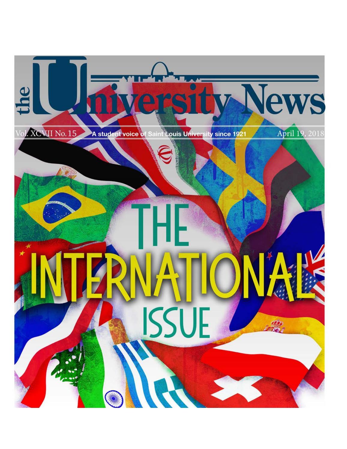 Vol  15 (April 19, 2018) by University News - issuu
