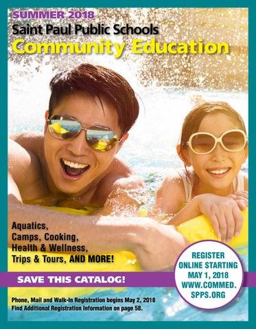 Spps Calendar.Summer 2018 Saint Paul Community Education Catalog By Saint Paul