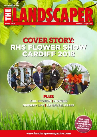 April 2018 - The Landscaper Magazine