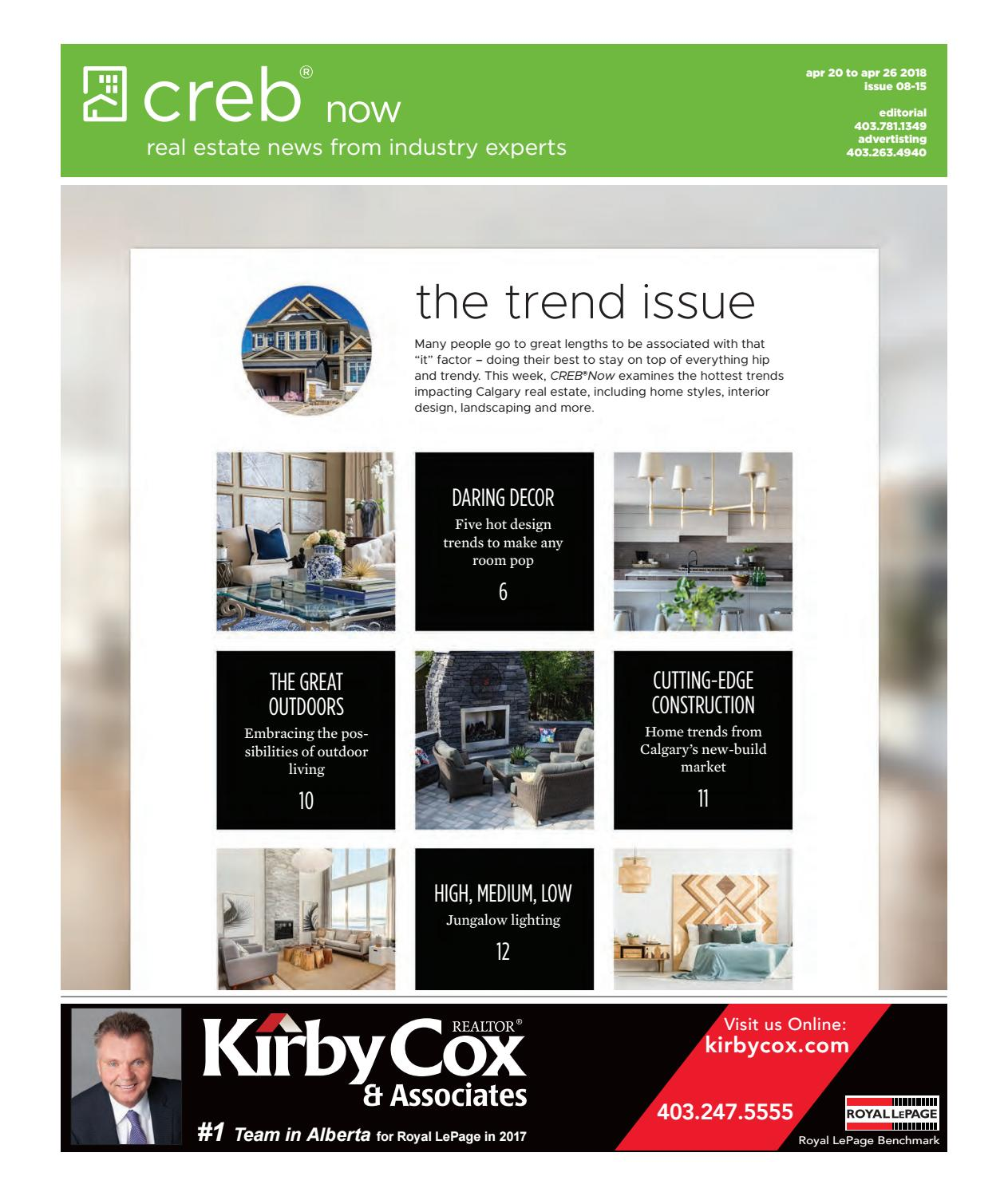 Crebnow april 20, 2018 by CREB®Now - issuu