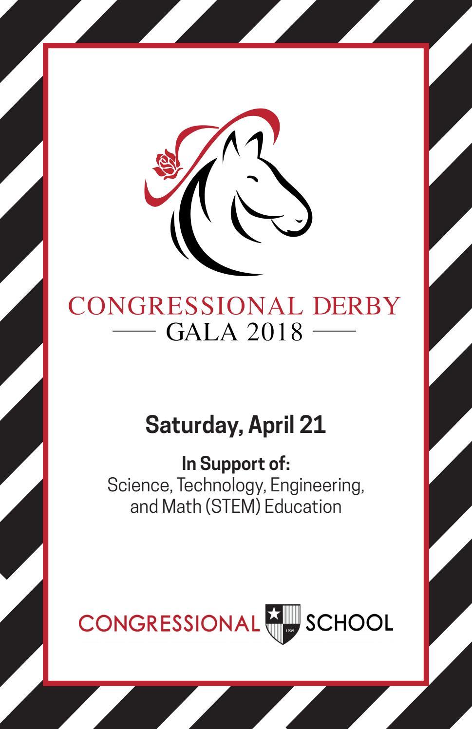 Gala 2018: Program by Congressional School - issuu