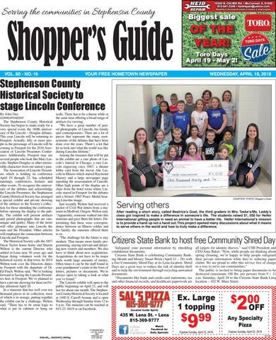 831d16dfffe1 Sg 4 18 18 by Southern Lakes Newspapers   Rock Valley Publishing - issuu