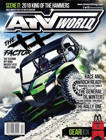 ATV World Magazine 14 6 by On Snow Magazine - ATV World