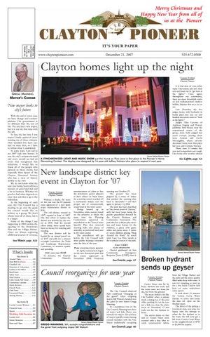 788caab06a4 DEC 21 Clayton Pioneer 2007 by Pioneer Publishers - issuu