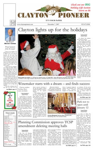 Dec 07 Clayton Pioneer 2007 By Pioneer Publishers Issuu