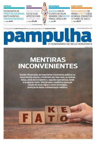 Pampulha - 21 a 27 de abril de 2018 by Tecnologia Sempre Editora - issuu b2711eda11395
