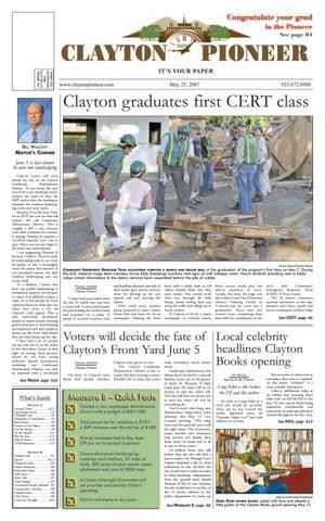 MAY 25 Clayton Pioneer 2007