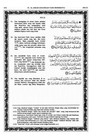 Al quran juz 22 by Fahmi Hakim - issuu