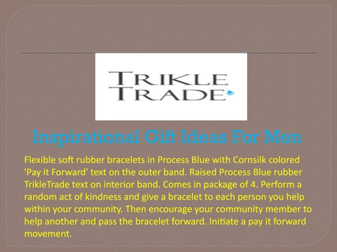 inspirational gift ideas for men by trikle trade issuu