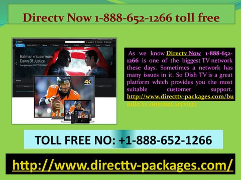 Can you get internet through Directv Com 1-888-652-1266? by