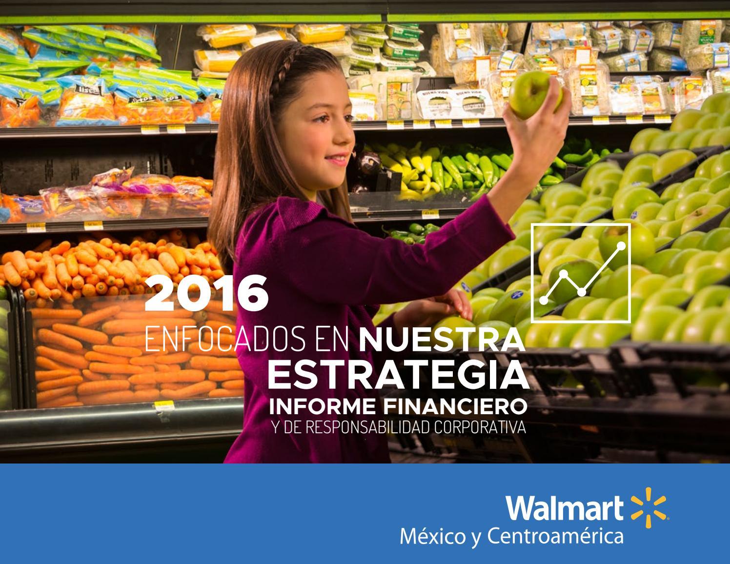 Informe corporativo responsabilidad social walmart by Leticia Salas ...