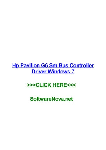 Install hp pavilion g6 drivers drivers for hp pavilion g6 youtube.