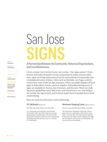 Page 8 of Sight & Sound: San Jose Signs
