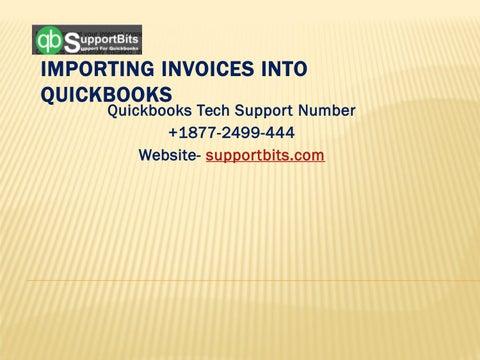 Importing Invoices Into QuickBooks | QuickBooks Helpline