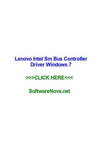 Lenovo intel sm bus controller driver windows 7 by jeffjmbn issuu.