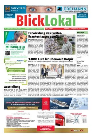Blicklokal Buchen Kw 16 2018 By Blicklokal Wochenzeitung Issuu