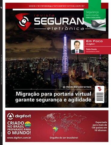 Revista Segurança Eletrônica - Edição 14   Ano 2018 by Revista ... 46656e44b4