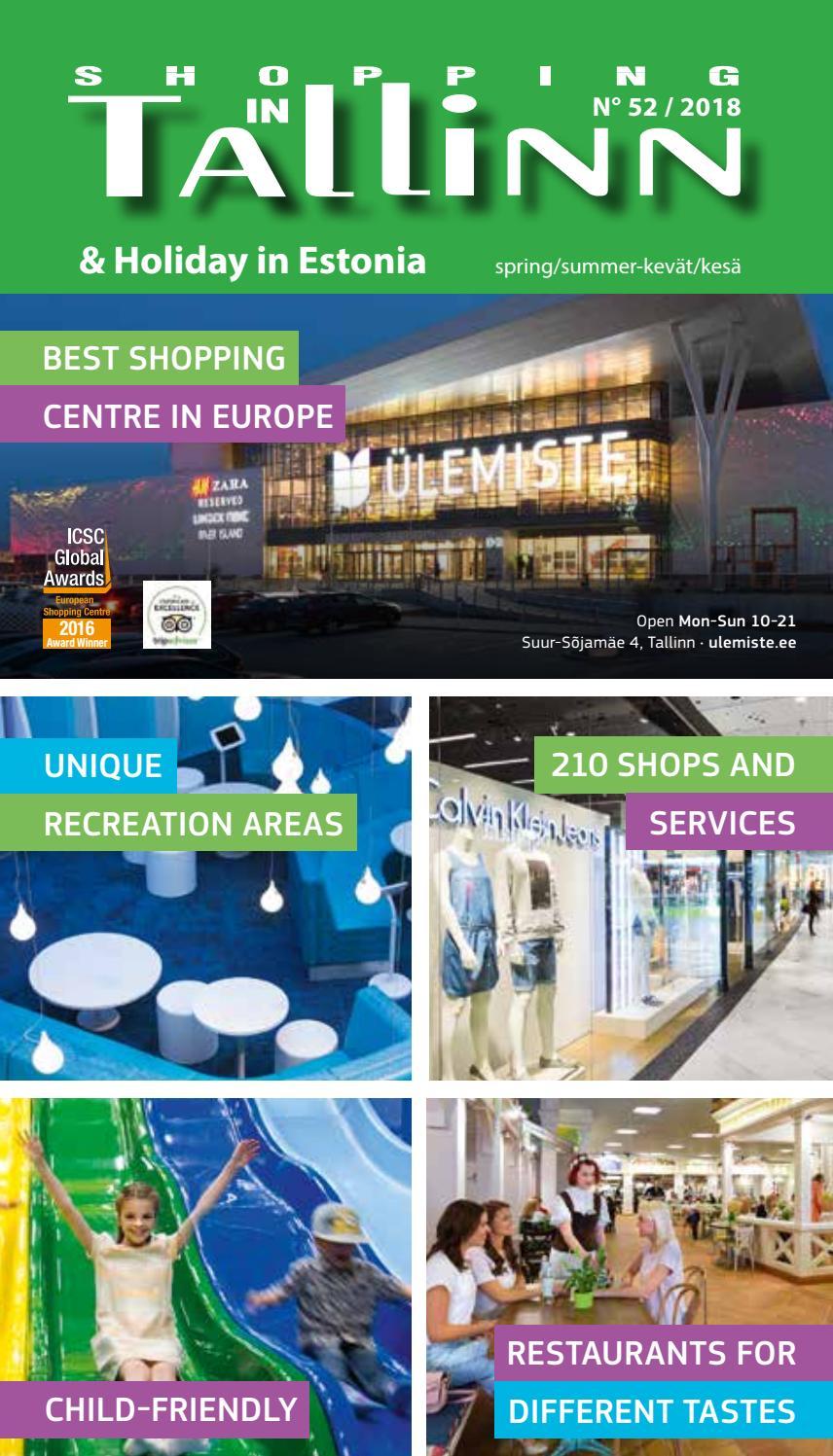 Shopping In Tallinn Holiday In Estonia 52 2018 By Ilona Issuu