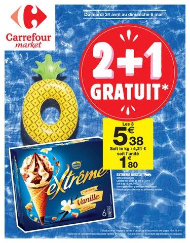 e9becb51ba8 Catalogue Carrefour Market France du 24 avril au 6 mai 2018 by ...