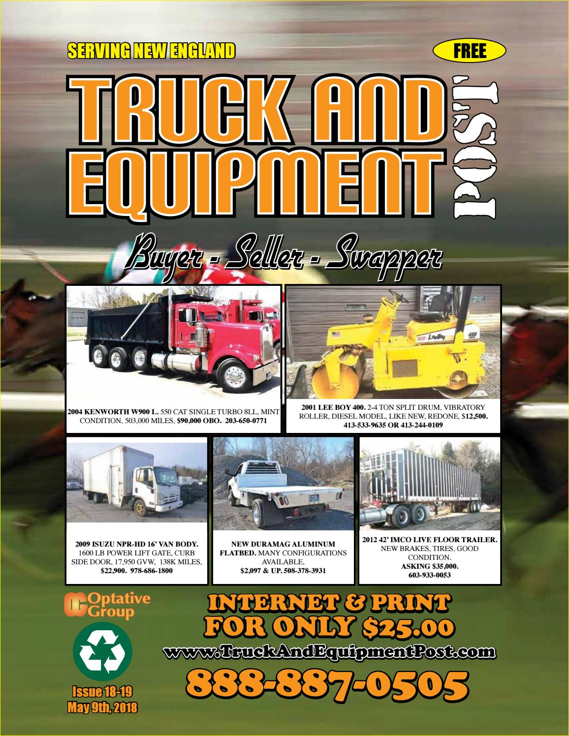 Truck equipment post 18 19 2018