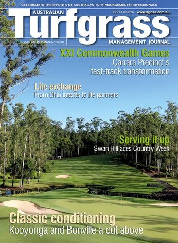 The Australian Turfgrass Management Journal - Volume 20.2 (March-April 2018)