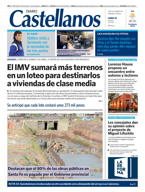 d5839f35a1 Diario Castellanos 23 04 by Diario Castellanos - issuu