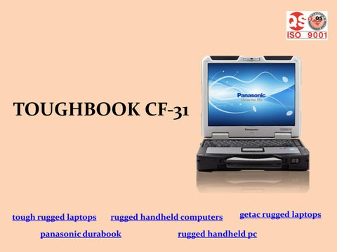Toughbook Cf 31 Tough Rugged Laptops Handheld Computers