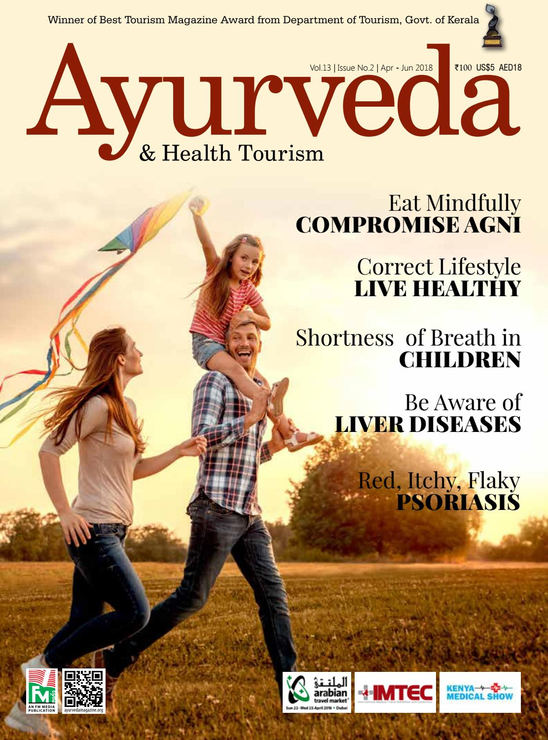 Ayurveda Magazine English April June 2018 by Ayurveda