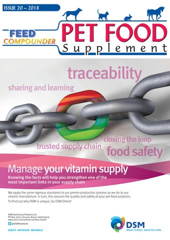 Pet Food Supplement 2018 by Feed Compounder - issuu