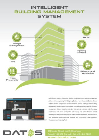 Datosiot Intelligent Building Management System Ibms By Sathish Arya Issuu