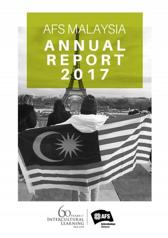 AFSMAS Annual Report 2017 by AFS Malaysia - issuu