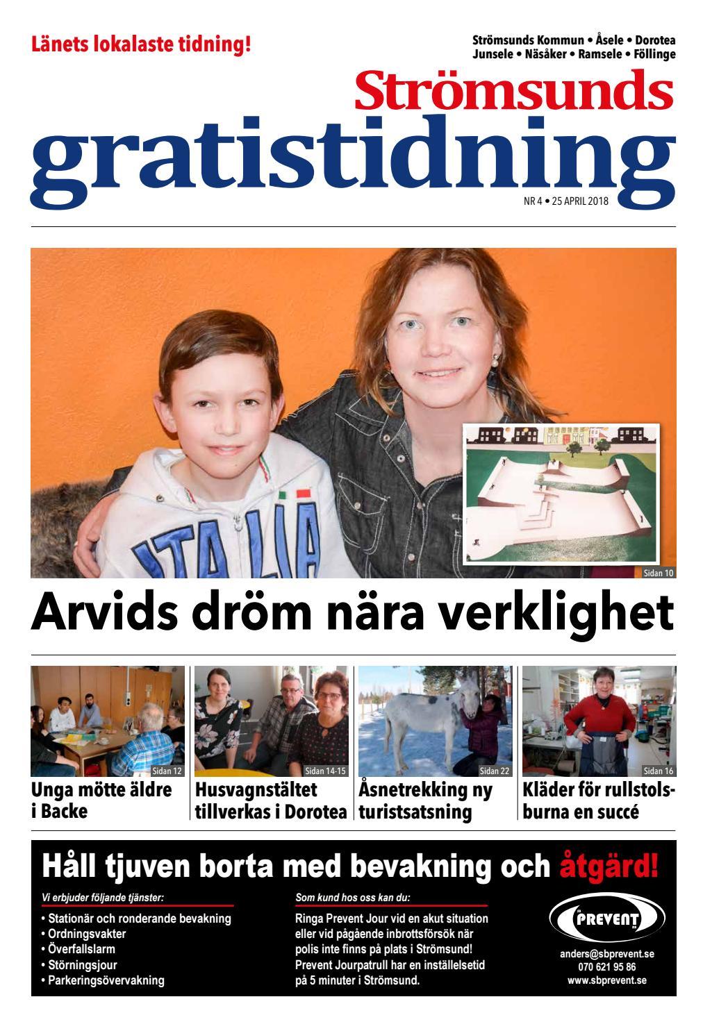 Strmsunds Gratistidning nr 3 2018 by Jmtlands Tidningar