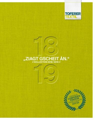 0a435bcb060a47 Toferer Textil Corporate Fashion 2018 2019 by Toferer Textil - issuu