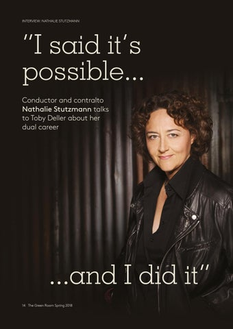 "Page 14 of Nathalie Stutzmann: ""I said it's possible and I did it"""