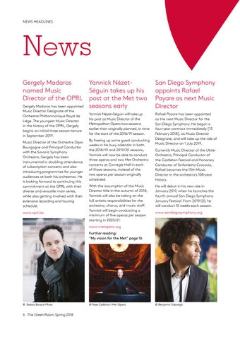 Page 6 of Plus: news, listings and upcoming tours & projects