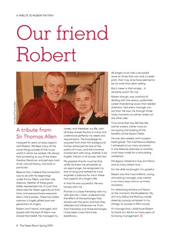 Page 8 of Our friend Robert: tributes to Robert Rattray