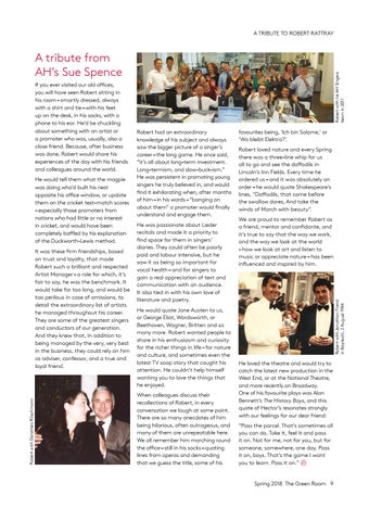 Page 9 of Our friend Robert: tributes to Robert Rattray