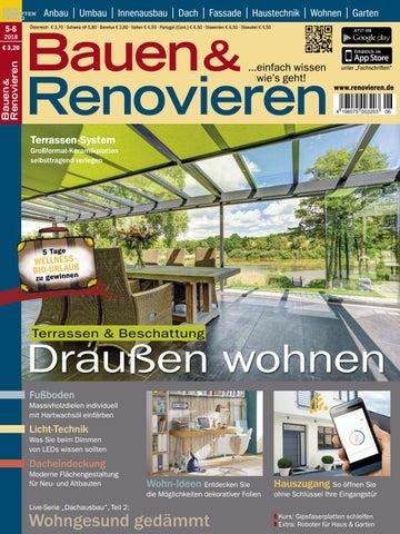 Bauen U0026 Renovieren 5/6 2018 By Fachschriften Verlag   Issuu